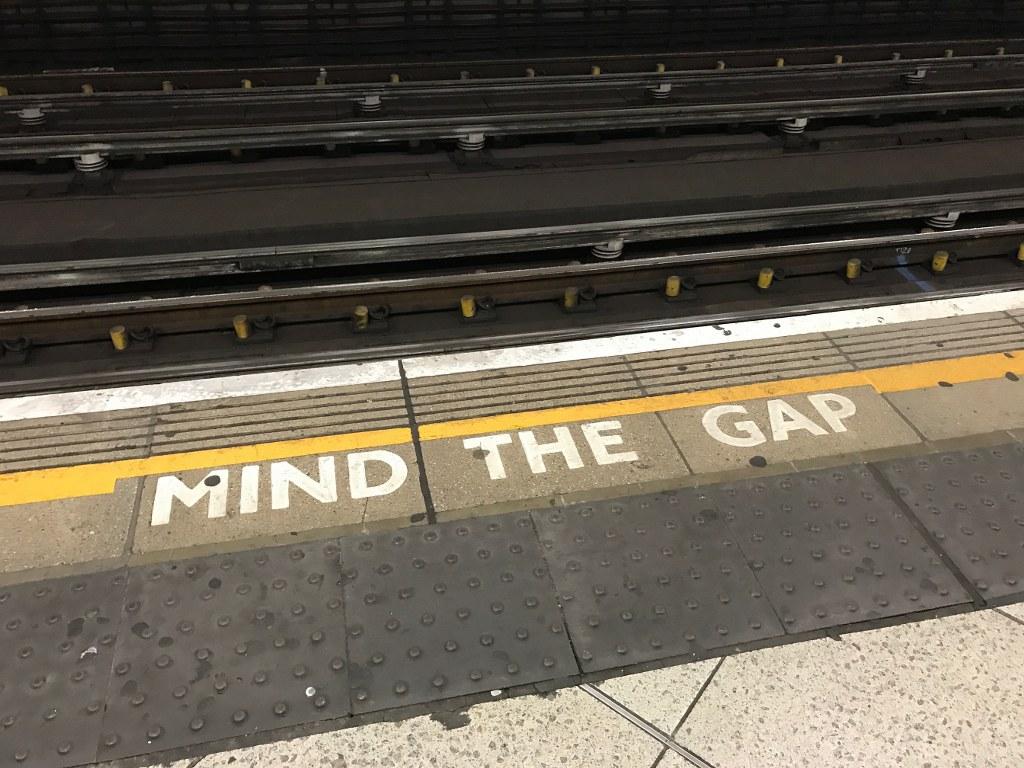 Mind de gap metro